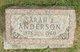 Sarah Ellen <I>Emmons</I> Anderson