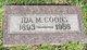 Profile photo:  Ida Mary <I>Bott</I> Coons