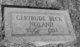 Gertrude <I>Beck</I> Noland