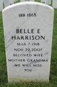 Profile photo:  Belle E Harrison