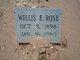 Willis Edgar Rose
