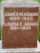 Profile photo:  Louisa E. Adams