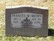 Frances M <I>Sandefur</I> Brown