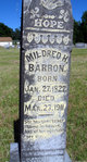 Mildred H <I>Walker</I> Barron