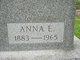 Profile photo:  Anna E. <I>Linebaugh</I> Borror