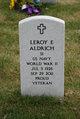 Profile photo:  Leroy Edward Aldrich