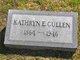 Profile photo:  Kathryn E. <I>Niblet</I> Cullen
