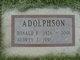 Audrey J <I>Olson</I> Adolphson
