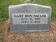 Profile photo:  Gary Don Naylor