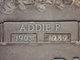 Profile photo:  Addie <I>Poore</I> Burnett
