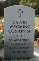 Calvin Wyoming Coston, Sr