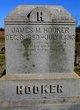 Profile photo:  James M. Hooker