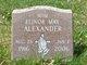 Elinor Mae <I>Clough</I> Alexander