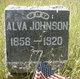 Profile photo:  Alva Johnson