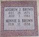 "Profile photo:  Andrew Jackson ""Jack"" Brown"