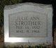 Julia Ann <I>Calhoun</I> Strother