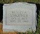 Wesley A. <I> </I> Strother,