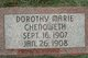Dorothy Marie Chenoweth