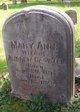 Mary Ann <I>Robinson</I> Caswell