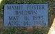 Mamie B. <I>Foster</I> Baldwin