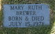 Mary Ruth Brewer