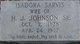 Isadora <I>Sarvis</I> Johnson