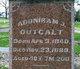 "Pvt Adoniram Judson ""A.J."" Outcalt"