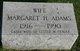 Margaret Helen <I>Lutz</I> Adams Yeager