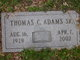 Profile photo:  Thomas C. Adams Sr.