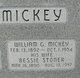 Bessie <I>Stoner</I> Mickey