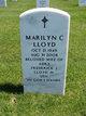 Marilyn C Lloyd