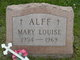 Mary Louise Alff