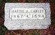 Hattie Alice <I>Allen</I> Carley