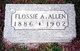 Flossie Allie Allen