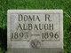 Doma R Albaugh