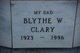 Blythe W. Clary
