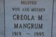 Creola M. Mangrum