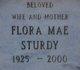 Flora Mae Sturdy
