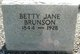 Betty Jane Brunson
