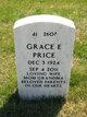 Grace E Price