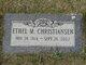 Profile photo:  Ethel Marion <I>Donald</I> Christiansen