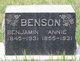 Profile photo:  Benjamin Benson