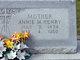 Profile photo:  Annie Mae <I>Calvert</I> Henry