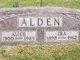 Profile photo:  Alice <I>Jones</I> Alden