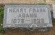 Henry Frank Adams