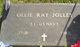 Ollie Ray Jolley