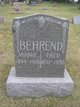 "Profile photo:  Frederick ""Fred"" Behrend"