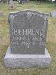 """Profile photo:  Wilhelmina """"Minnie"""" <I>Hill</I> Behrend"""