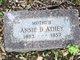 Annie Bessie <I>Klingman</I> Athey