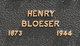 Br Henry Bloeser